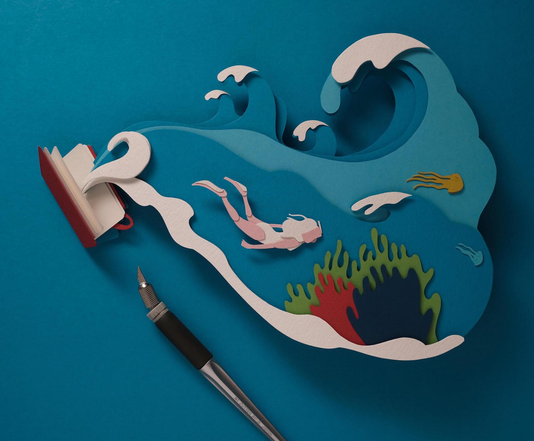 Scherenschnitte – Paper-cutting